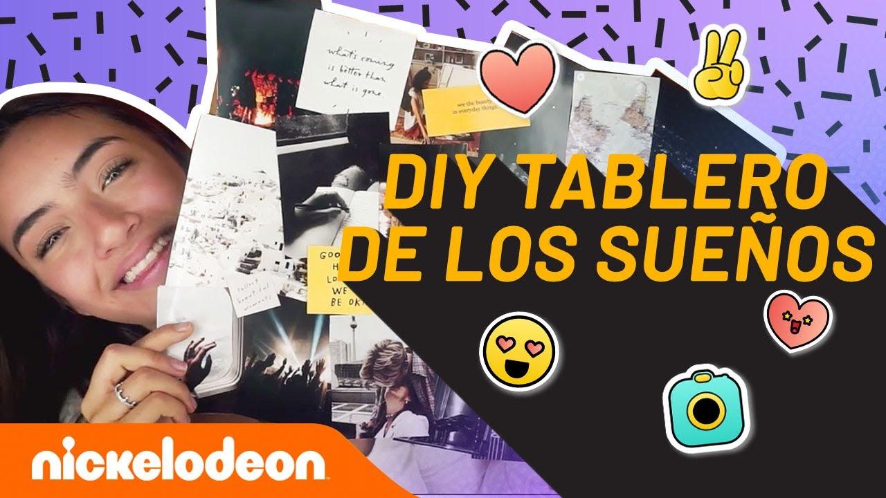 DIY Tablero de los sueños | Make Me Glam | Nickelodeon en Español