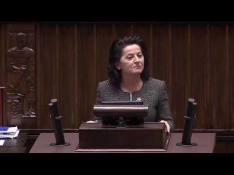 Anna Paluch  – wystąpienie z 6 grudnia 2017 r.