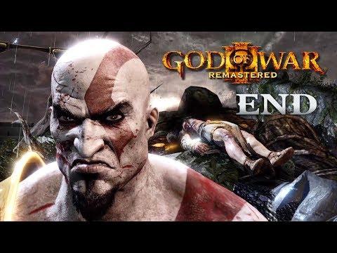 【Ending】人類最強大的力量 - 希望    God of war 3 Remastered 戰神3 重製版 [中文字幕 PS4 Pro 60 FPS]