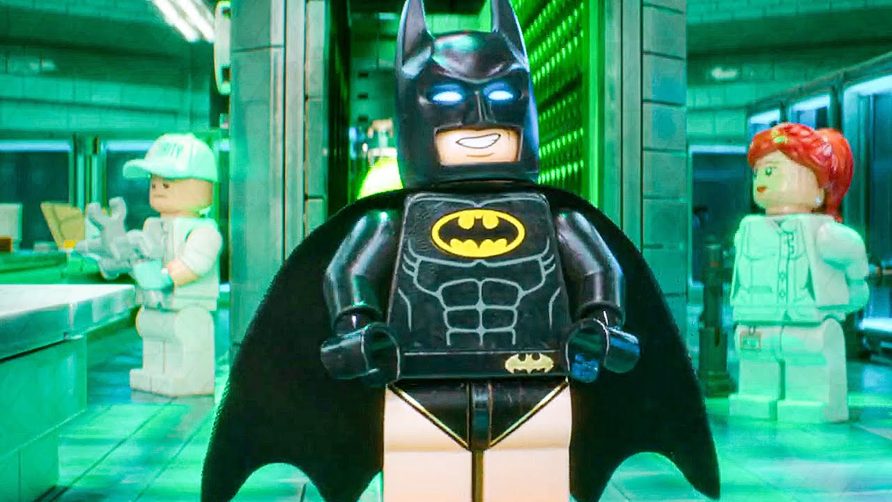 Batman Visits Joker In Arkham Asylum Scene The Lego Batman Movie 2017 Movie Clip Youtube
