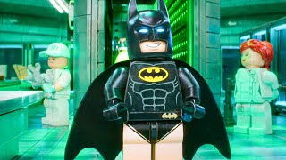 Batman Visits Joker in Arkham Asylum Scene - THE LEGO BATMAN MOVIE (2017) Movie Clip