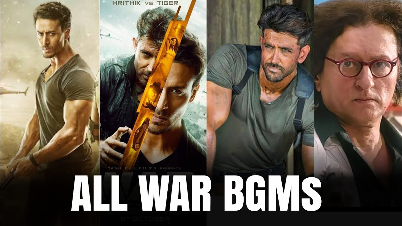 War Movie All Background Music (BGM) || Khalid's BGM || Kabir's BGM || War BGMs || Tiger Shroff