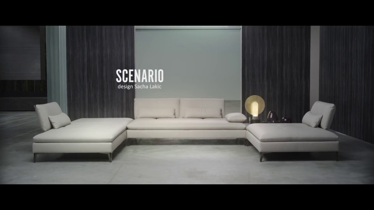Composition d 39 angle scenario design sacha lakic youtube for Canape angle roche bobois