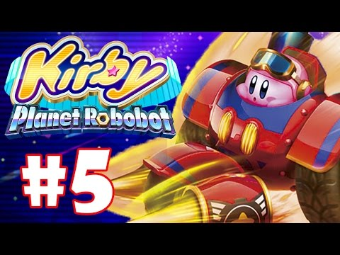 KIRBY PLANET ROBOBOT #5 - SUPER KIRBY KART