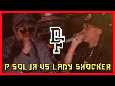 P SOLJA VS LADY SHOCKER   Don't Flop Grime Clash