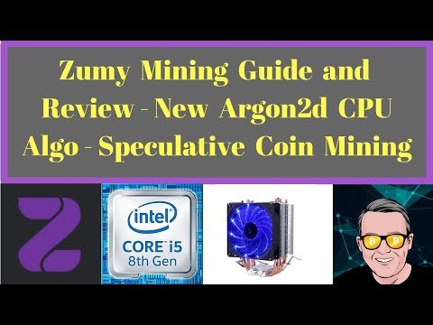 Zumy Mining Guide and Review - New Argon2d CPU Algo - Speculative Coin Mining