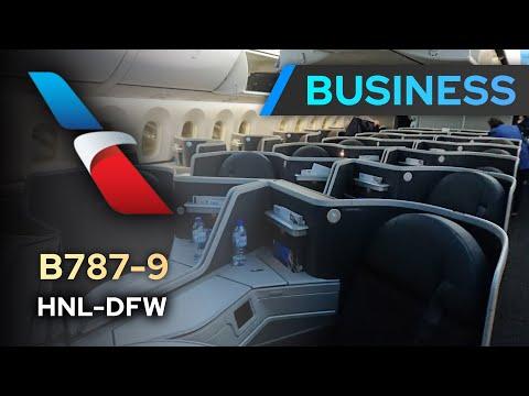 TRIP REPORT   American Airlines B787-9 BUSINESS CLASS   Honolulu - Dallas