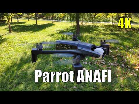 Parrot ANAFI - Full Review with 4K Camera Footage