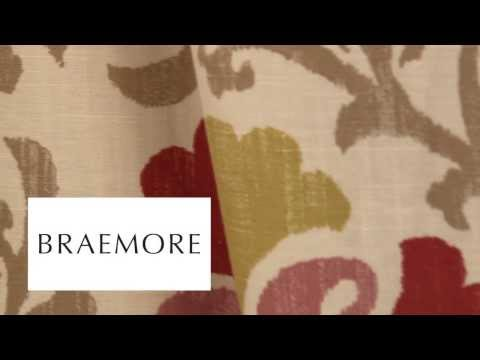 Video of Braemore Silsila Curry Fabric #104743