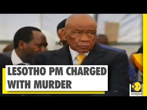 Lesotho PM charged with murder of ex-wife | WION News | World News