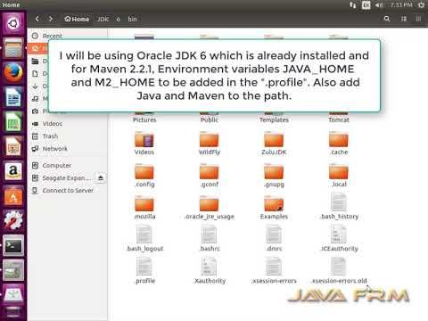 install maven ubuntu 16.04