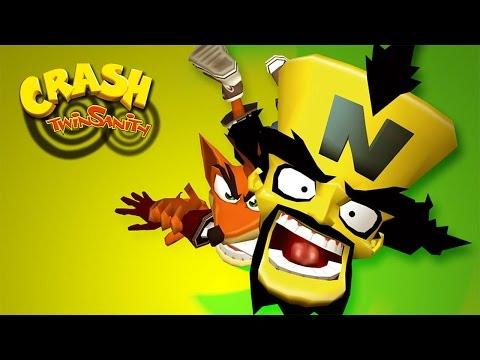 CRASH TWINSANITY #1 - GAMEPLAY DO INÍCIO