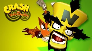 CRASH TWINSANITY #1 - GAMEPLAY DO INÍCIO