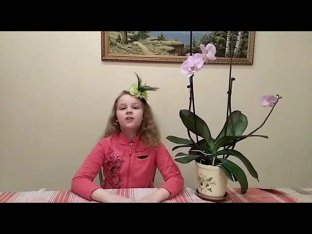 Изображение предпросмотра прочтения – УльянаЖуравлева читает произведение «Весна (Зима не даром злится…)» Ф.И.Тютчева