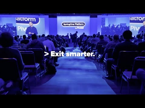 SpringOne Platform 2018