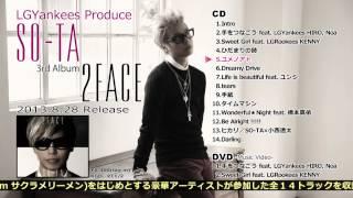 SO-TA / 3rd Album 『2FACE』 全曲試聴 Teaser Video