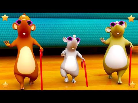 Three Blind Mice | Nursery Rhymes Songs for Kids | English Kindergarten Cartoons by Little Treehouse