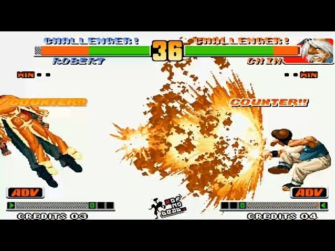 Chin Doble SDM DM vs Poderes Varios personajes KOF 98