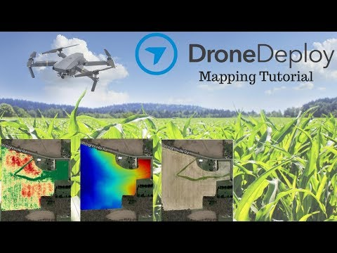 Drone Deploy Mapping Demo Tutorial | DJI Mavic Pro