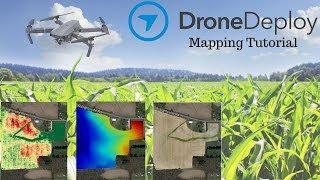 Drone Deploy Mapping Demo Tutorial | DJI Mavic Pro