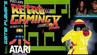 Portland Retro Gaming Expo 2015 Atari 2600 Cartridge Limited Edition - PRGE X