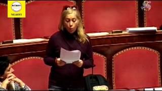 Fiducia sul Milleproroghe, l'intervento di Michela Montevecchi (M5S)