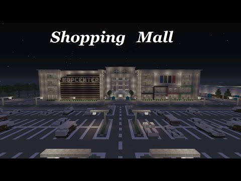 Minecraft - Shopping Mall