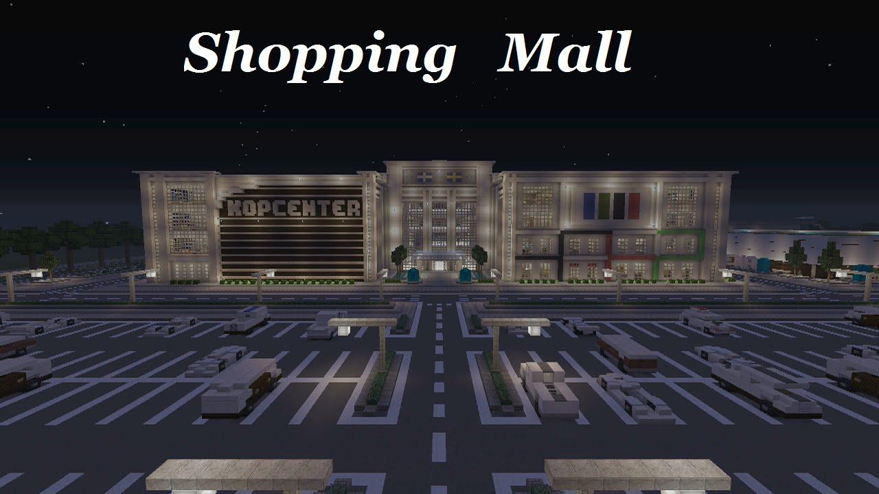Minecraft Shopping Mall Youtube