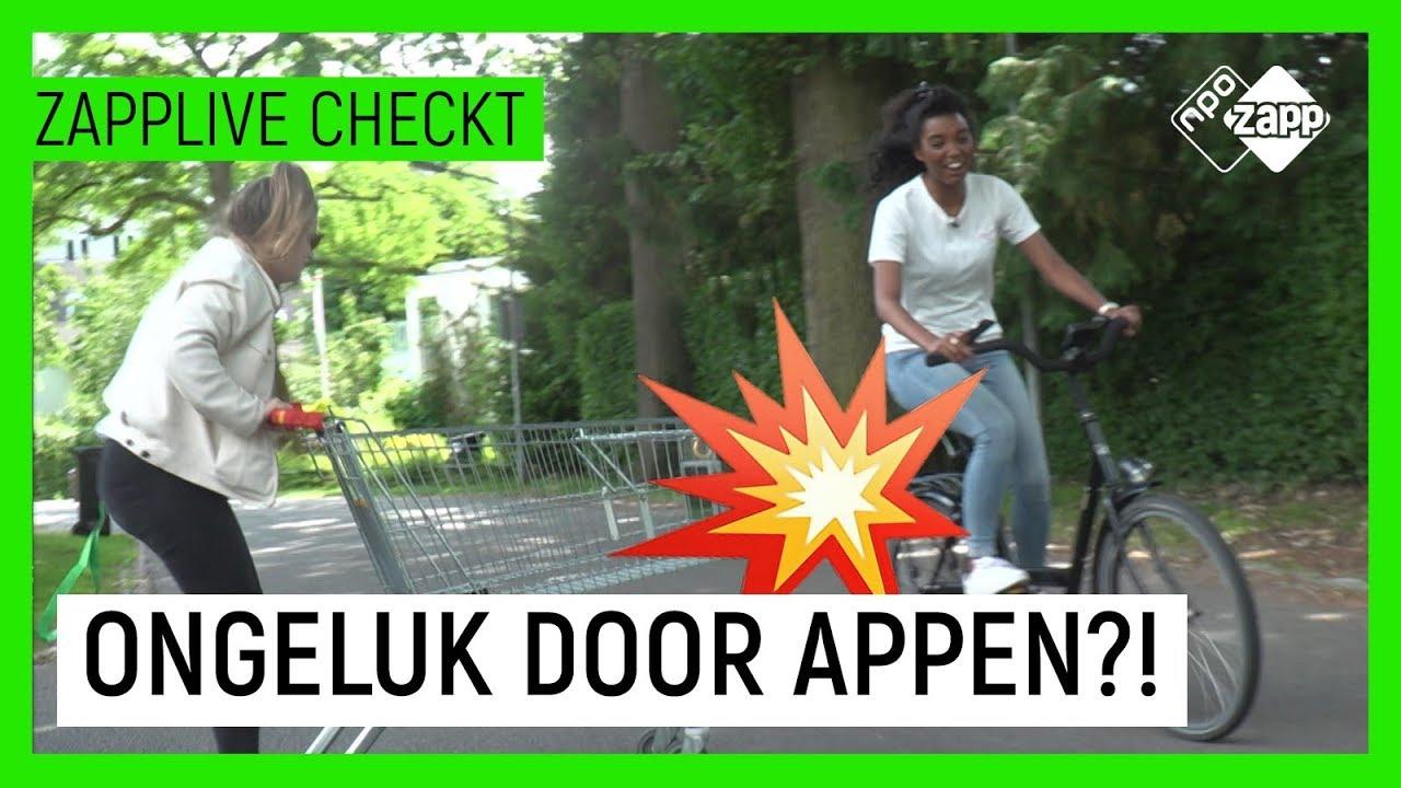Download NOOIT MEER APPEN OP DE FIETS? 😱 | Zapplive Checkt | NPO Zapp