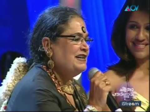 """Usha Uthup sings """"Who is the hero """" - Chitrapournami"""