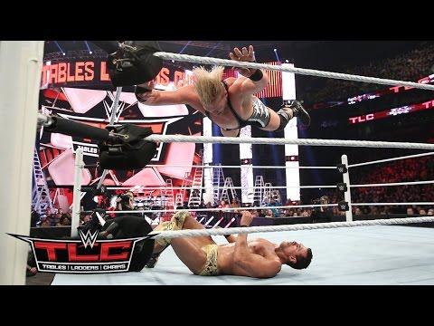 Jack Swagger vs. Alberto Del Rio – Chairs Match: WWE TLC 2015
