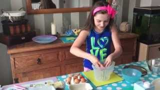 How To... Make Fresh English Scone's - By 9 Year Old Skye