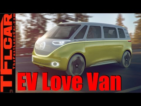 Volkswagen Id Buzz Concept All Electric Awd Autonomous Microbus