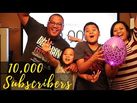 #NAMBIA  FAMILY VLOGGER / YOUTUBER HITS 10,000 SUBSCRIBERS