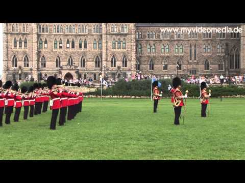Ottawa, Trooping the Colour (uncut version !!!) - Canada HD Travel Channel