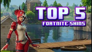 Top 5 Skins for 800 v-bucks [FORTNITE]