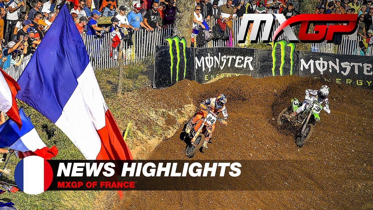 Mundial de Motocross - GP da França - VÍDEO