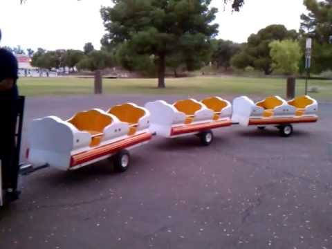 Trackless Train Rentals Phoenix AZ - Rent A Trackless Train For Parties