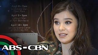 TV Patrol: Hailee Steinfeld, ipinagmamalaki ang dugong Pinoy
