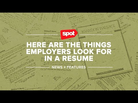 Here Are the Things Employers Look for in a Résumé - YouTube