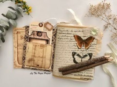 Lovely Layers Junk Journal - Paper Bag Cover