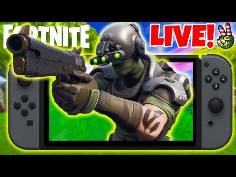 Pro Nintendo Switch Player! // New X-Ray Skin 101! // (Fortnite Battle Royale LIVE) thumbnail