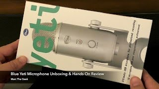 Blue Yeti Unboxing, PS4 Test & Hands On Review