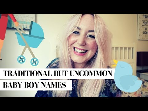 TRADITIONAL BABY BOY NAMES & MEANINGS THAT AREN'T TOO COMMON | SJ STRUM BABY NAMES