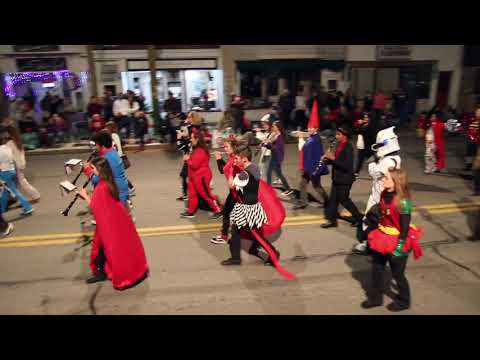 Pottsville Area High School Marching Band in the St. Clair Halloween Parade 2018