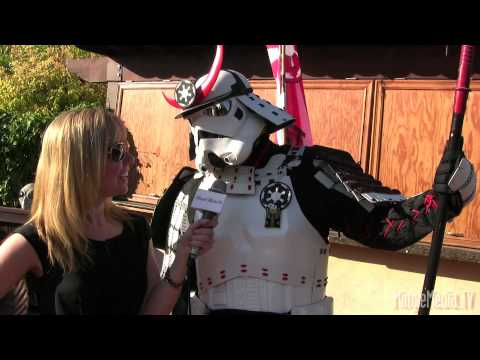 Samurai Stormtrooper 36th Annual Saturn Awards Red Carpet Report by Mingle Media TV