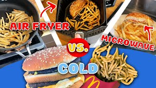 McDonalds Leftovers: The Absolute Best Reheat Method