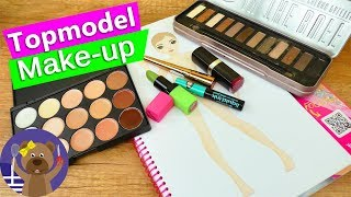 9Πρόκληση ζωγραφικής Top Model! Θα καταφέρουμε να ζωγραφίσουμε με είδη make up;