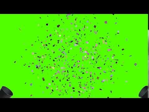 Confetti - Green Screen Effect