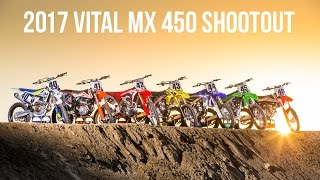 2017 450 Motocross Shootout - Vital MX
